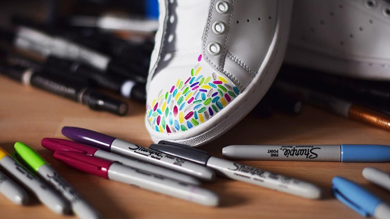 canvas-shoes-colorful-sharpies